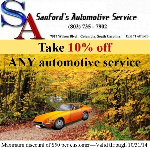 FALL into Savings with the Columbia, SC Auto Repair Pro!