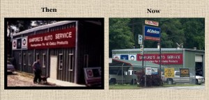 Sanford's Auto Service opened this repair shop in 1989 and is still there today!