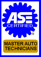 ASE Cert Master Techs at Sanford's Automotive Service
