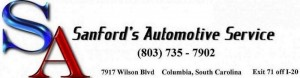 Auto Repair and Maintenance Shop in Columbia, SC - Sanford's Automotive Service