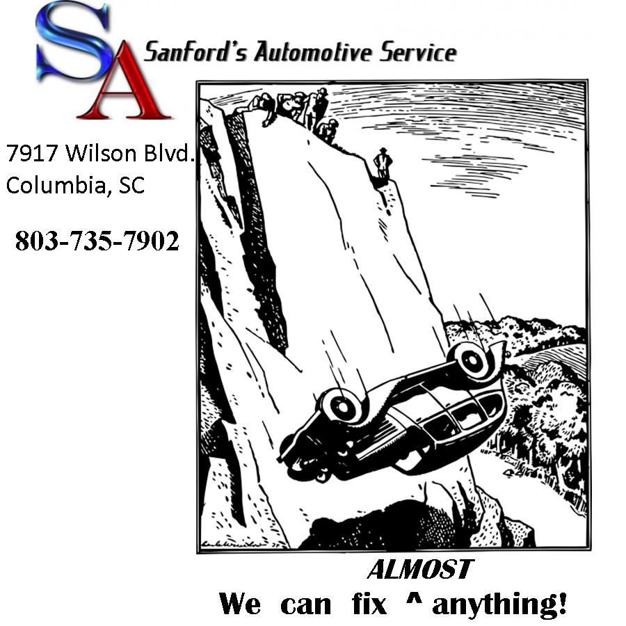 Sanford's Automotive Service Can Fix Almost Anything!